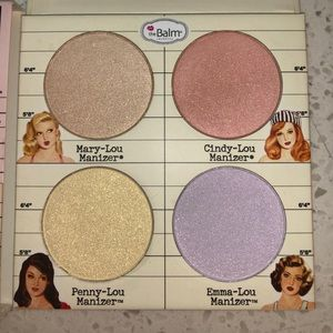 The Balm Makeup - The balm cosmetics highlighter palette